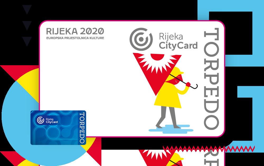 Rijeka CityCard Torpedo kartica